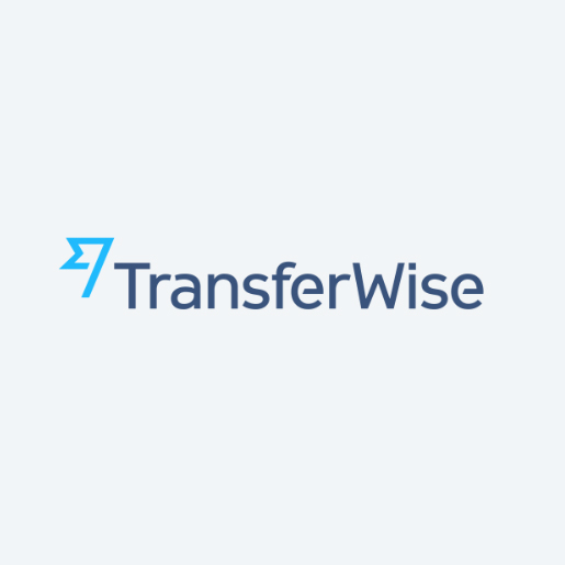 TransferWise Logo as an intro image for blog article.